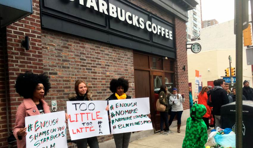 Starbucks did it. Is it OK to kick you out of a store? - news of today