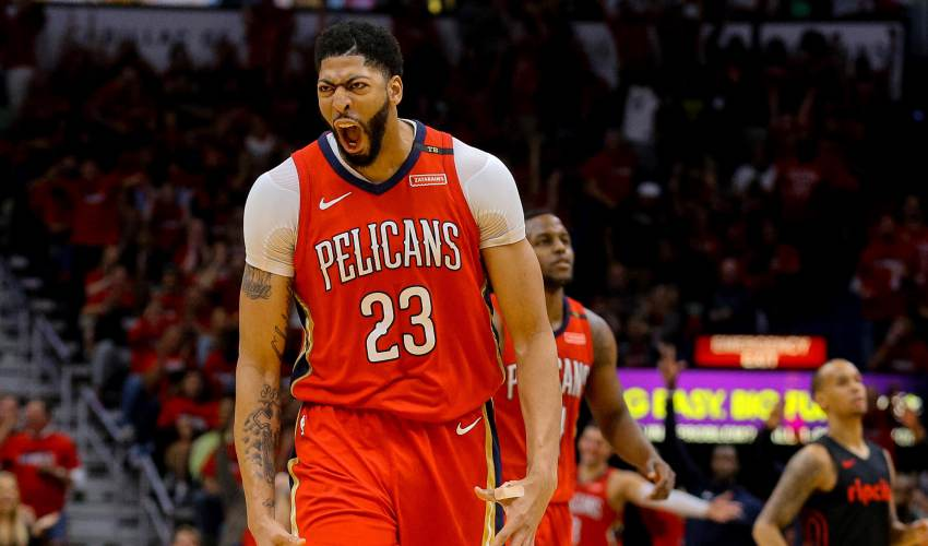 No. 6 seed Pelicans make NBA playoff history… - news of today